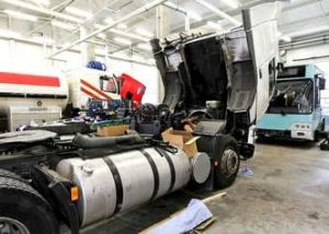 semi truck repair